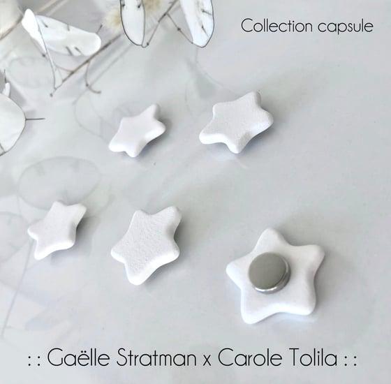 Image of :: Aimants étoiles :: Gaëlle Stratman x Carole Tolila ::