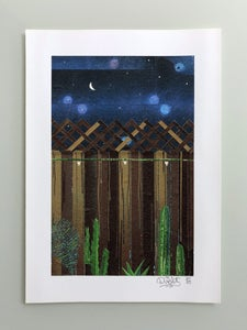 Image of Counting Stars in Your Backyard giclee print