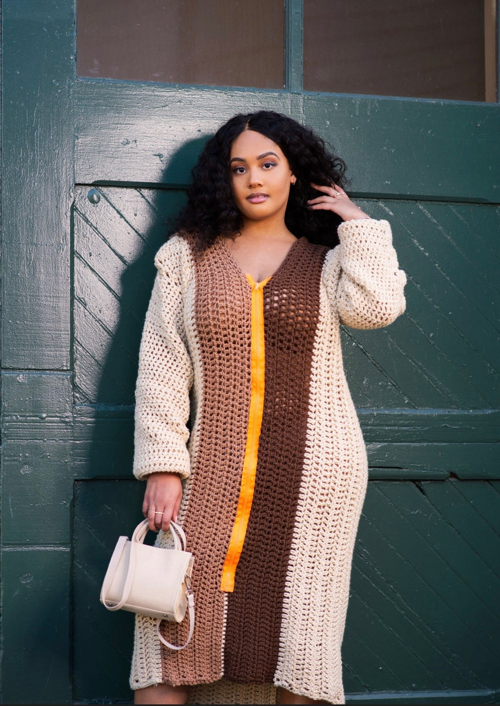 Image of Latte Sweater Weather Dress