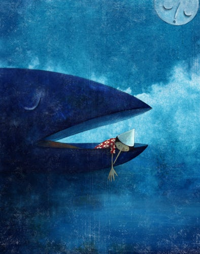 Image of Pinocchio and the whale