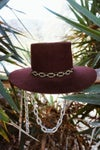 Wide Chain Hatband