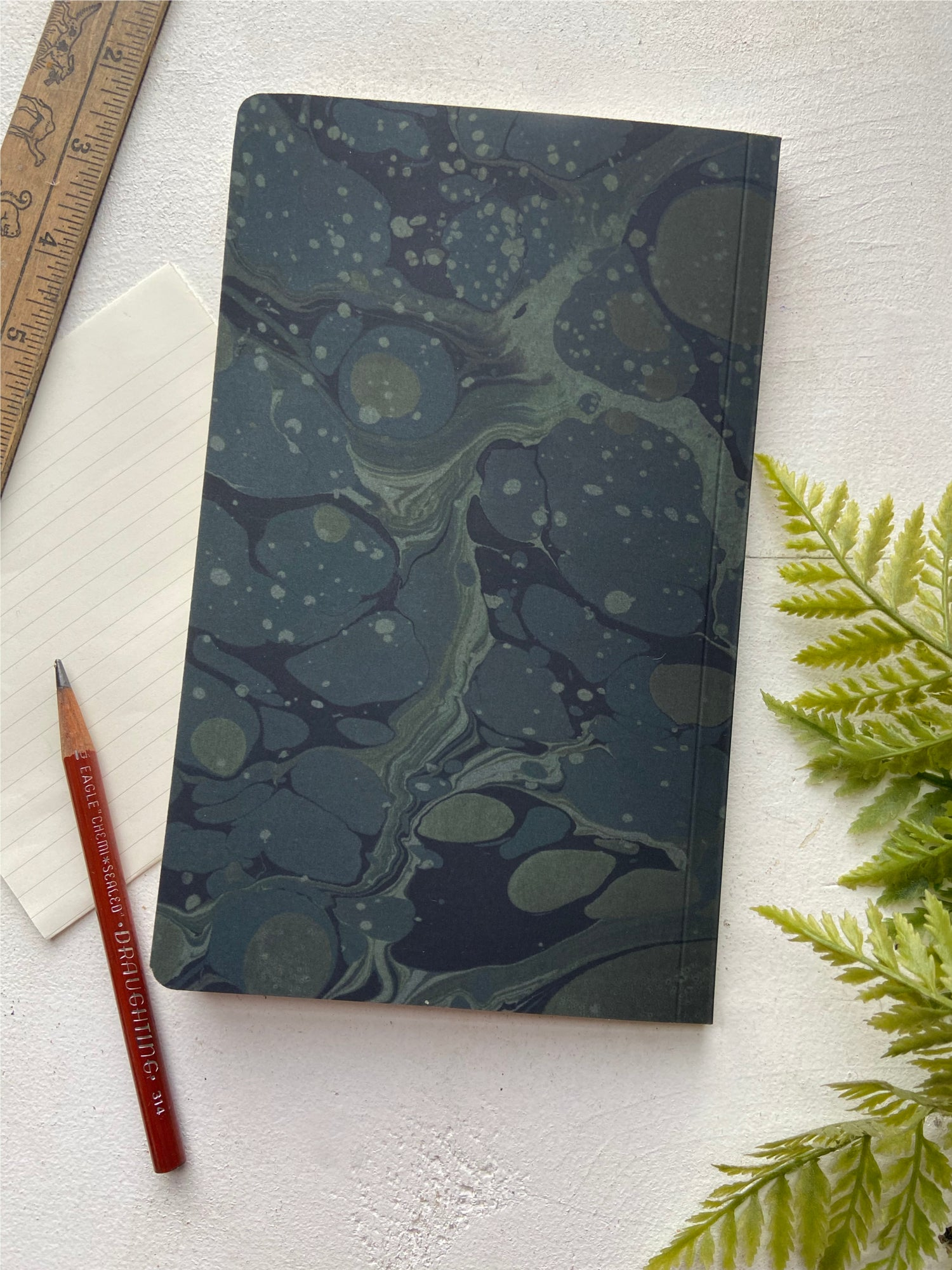 Image of Moss Mirror Notebook- Small