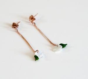 Image of Boucles Cerises Blossom - Doré Or Rose
