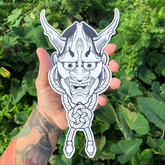Image of HANNYA KNOT (STICKERS)