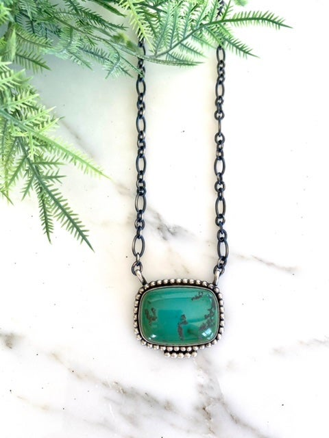 Turquoise Sunwest Necklace Too