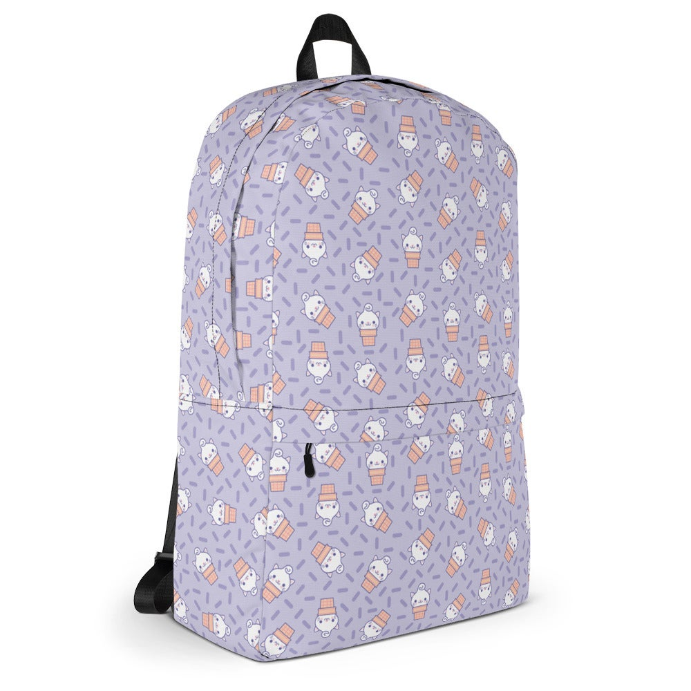 Image of Yumi Pattern Backpack