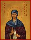 Saint Macrina Icon Print
