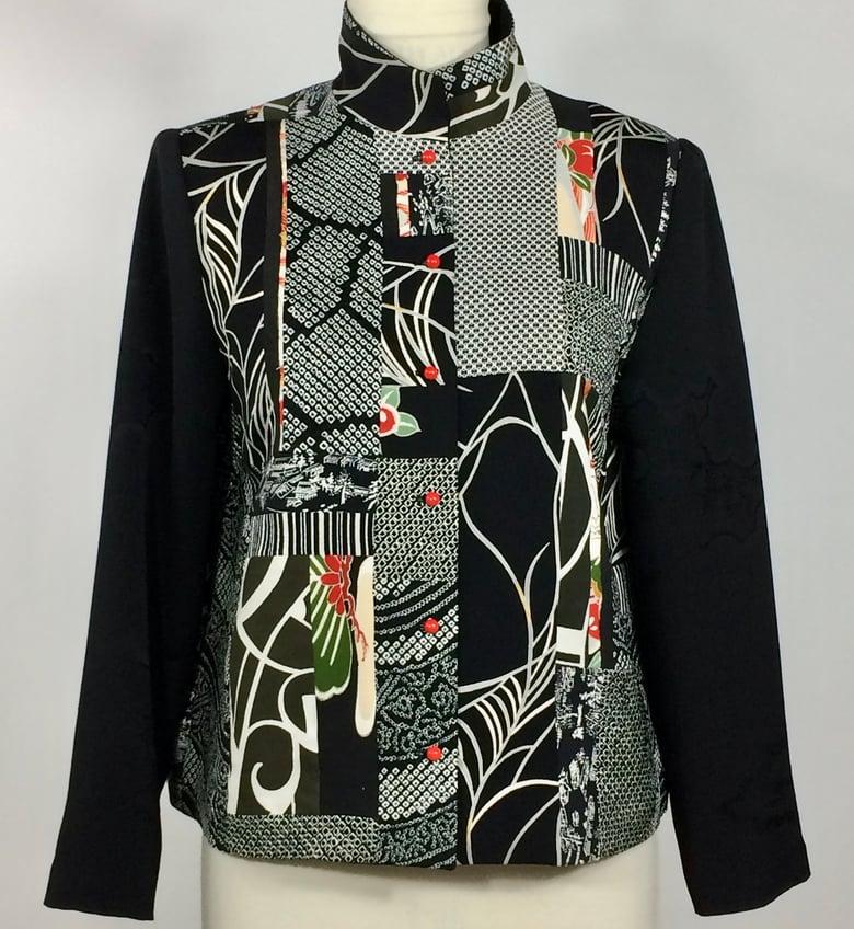 Image of Black and White Bold Jacket