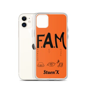 Image of Mani Loves Orange F.A.M. iPhone Case