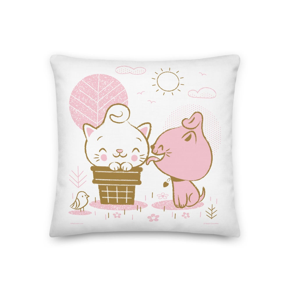 """Image of Pretty Parlor 18"""" x 18"""" Pillow"""
