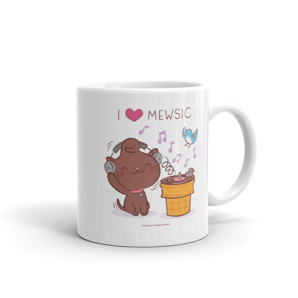Image of I love Mewsic Mug