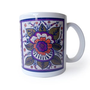 Image of Flower Coffee Mug