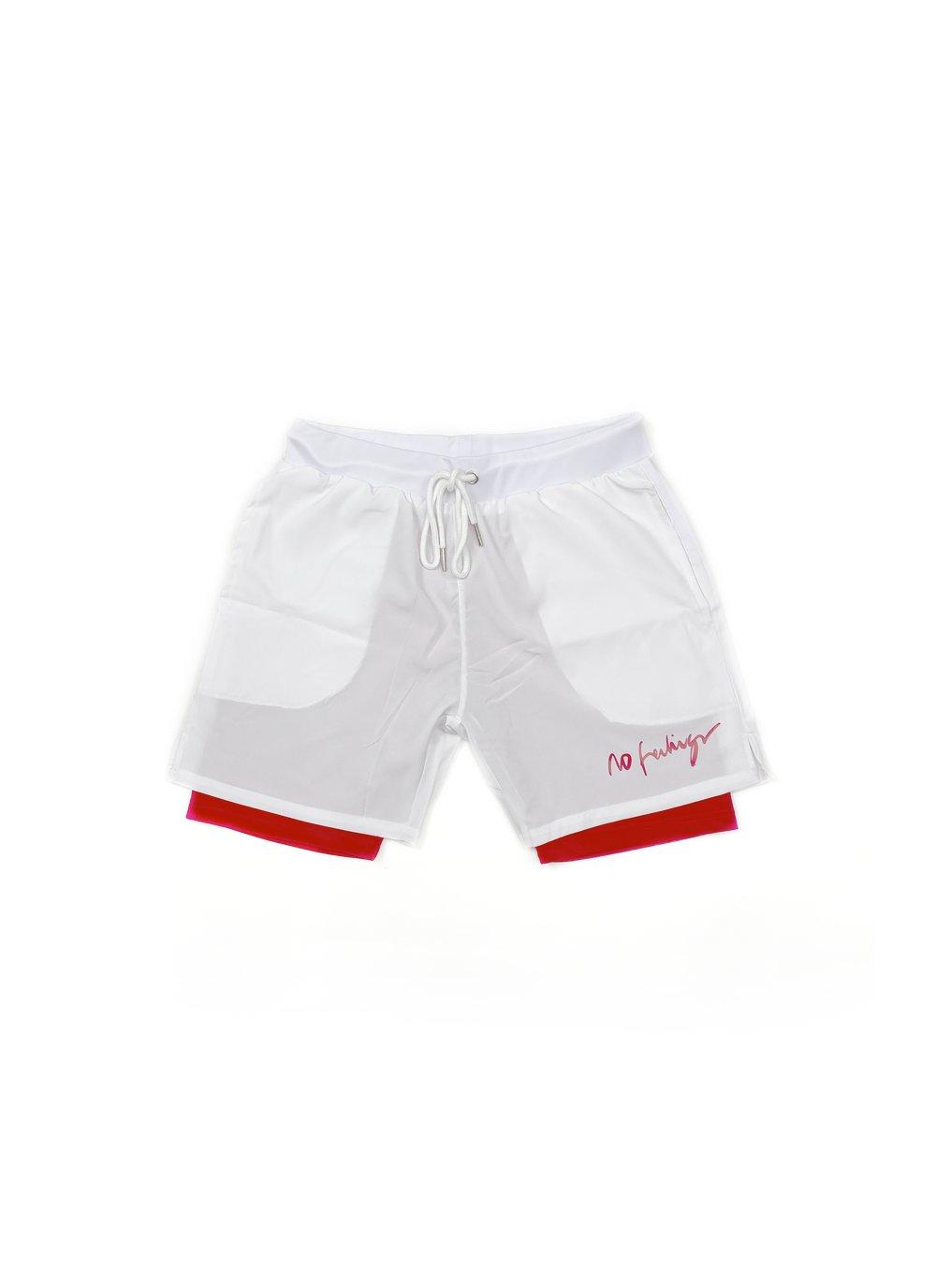No Feelings Running Club Shorts