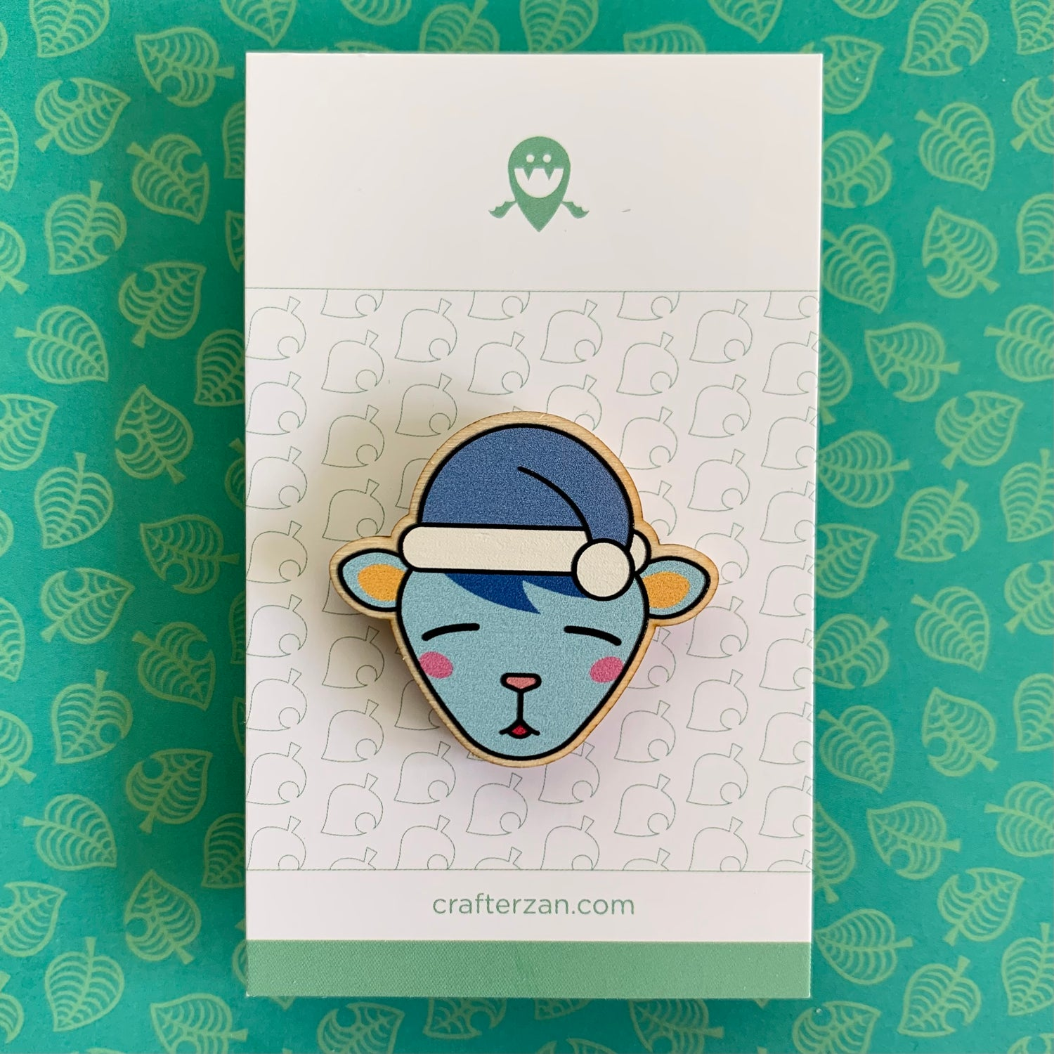 Image of Animal Crossing Wooden Pins