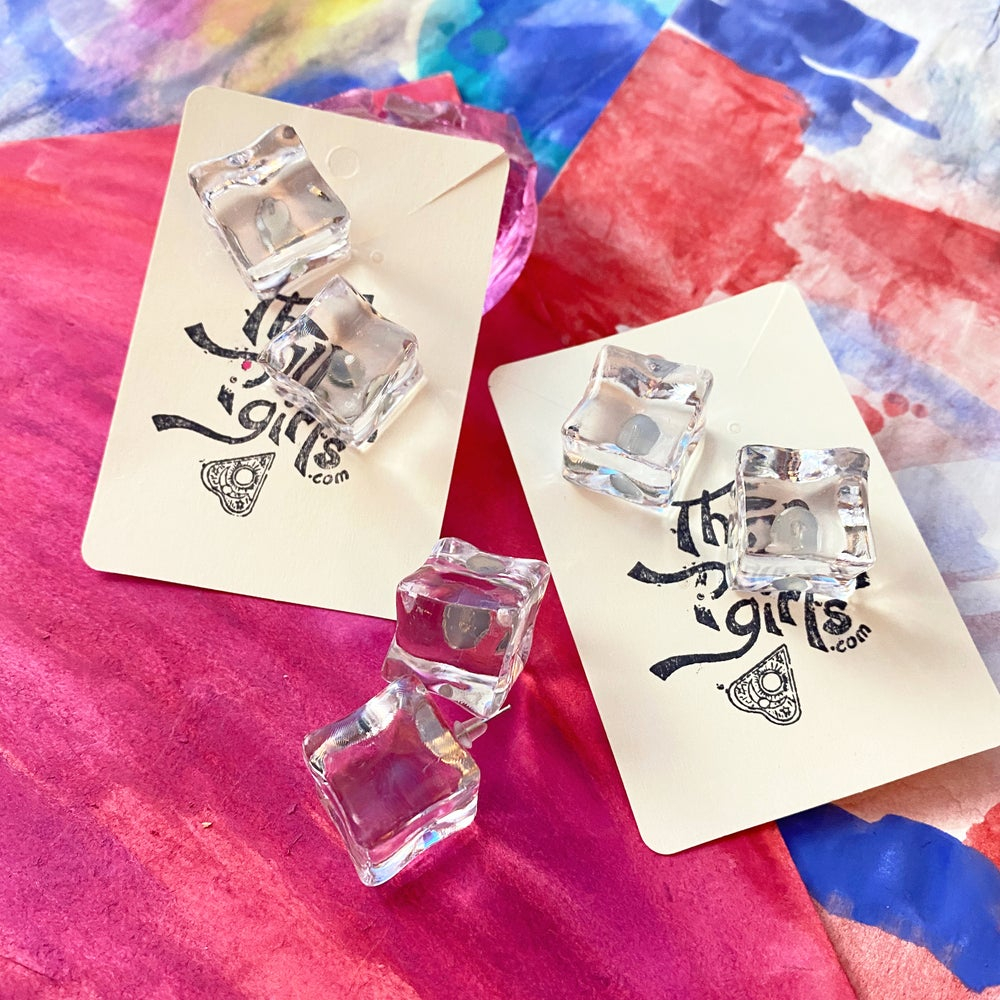 Image of CHILL ICE EARRINGS