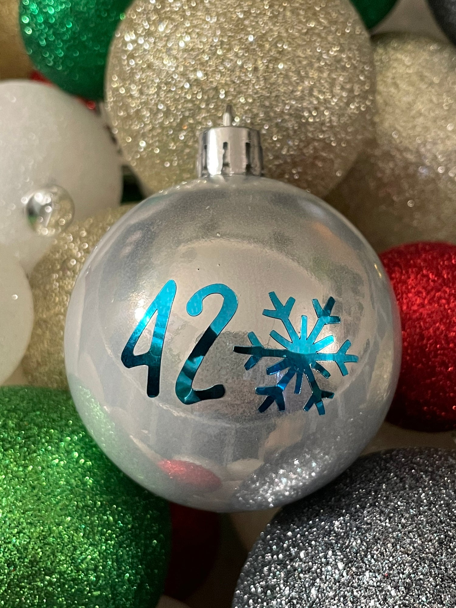 Image of Holidaze ornaments (silver)