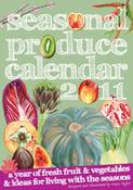 Image of Seasonal Produce Calendar 2011