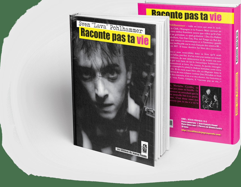 """Image of Raconte pas ta vie - Sven """"Lava"""" Pohlhammer - COMMANDER (18+ €5 de frais de port)"""