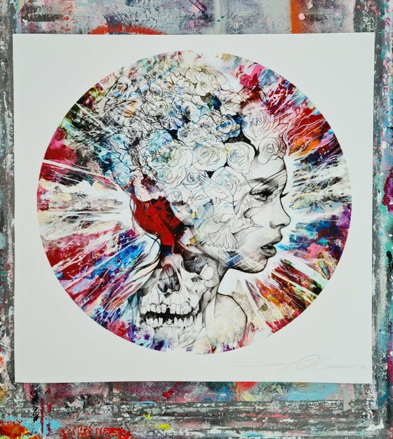 """Image of """"Perpetual Emotion - Red"""" LIMITED EDITION PRINT - FREE WORLDWIDE SHIPPING!!!"""