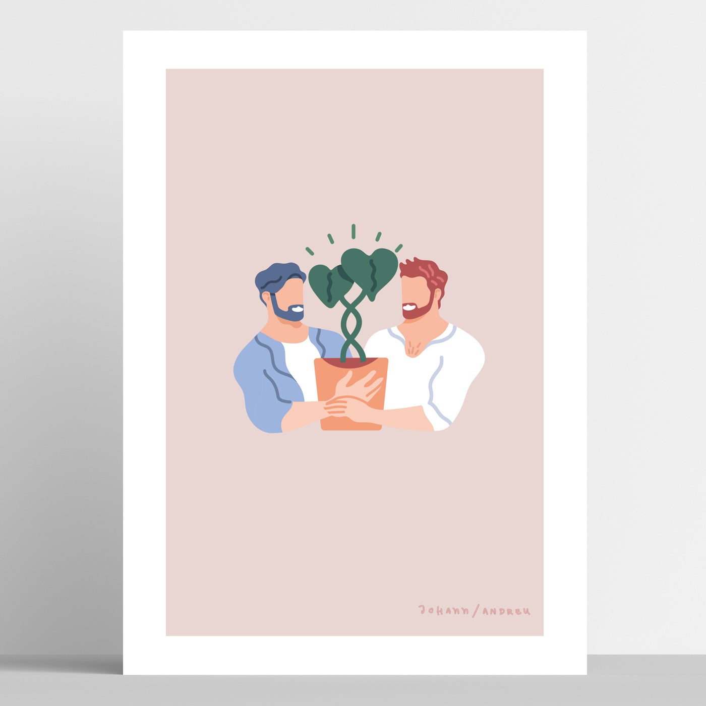 """We Love Plants"" - Artprint"
