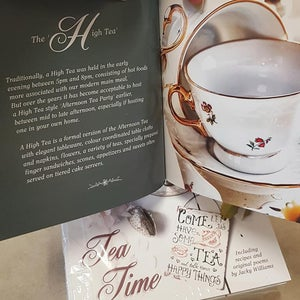 """Image of """"Tea Time"""" Gift Book (Printed in Maryborough Qld)"""