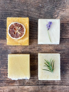 Image of Naturally made soaps made specially for us in North Wales