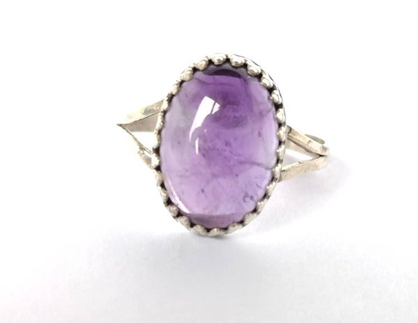 Image of Bague purple hase