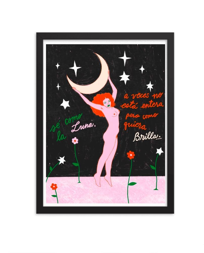 Image of Fases de Luna  Art Print