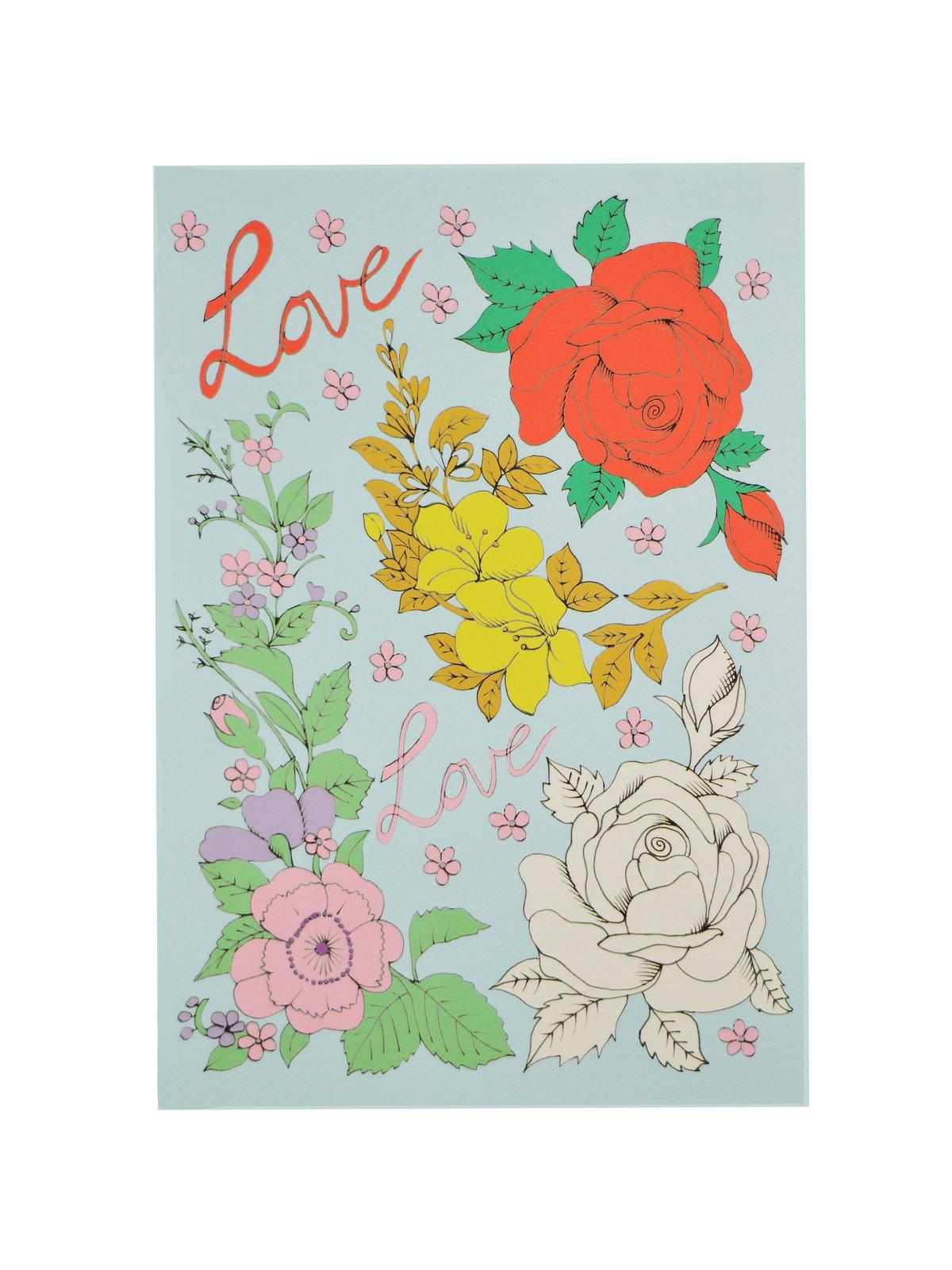 Roses Mini A6 Notebook