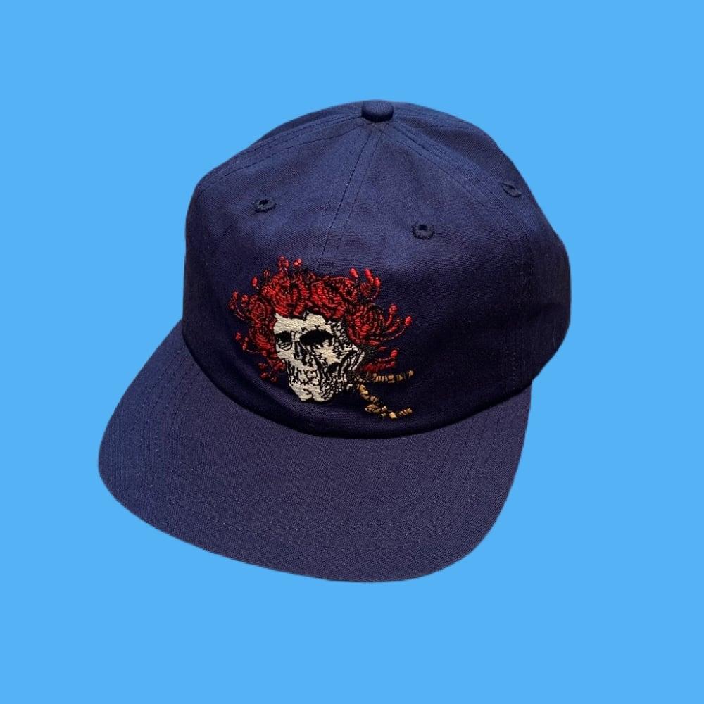 Image of Bertha 100% Natural Hemp Snapback Hat!