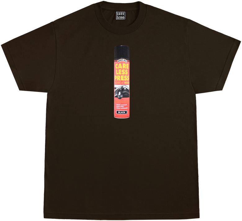 Image of FREE PAINT SHIRT - DARK BROWN