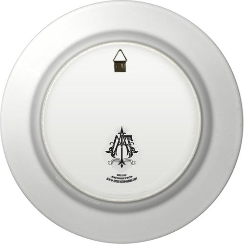 Image of Phone home - Large Fine China Plate - #0744