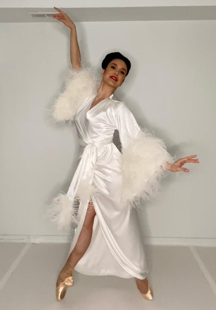 "Image of ""Pearl"" Selene Dressing Gown (40% Off Discount Code: PEARLSELENE40)"