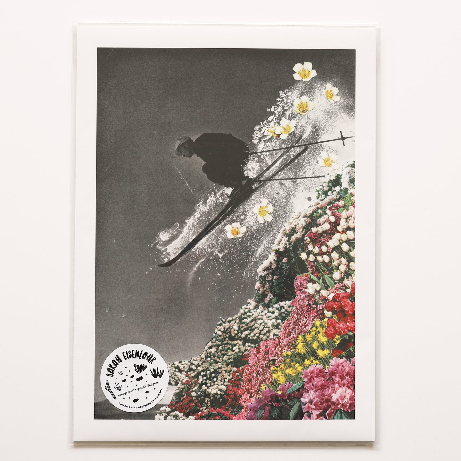 Image of Spring Skiing Giclee Print