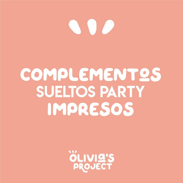 Image of Complementos sueltos Party IMPRESOS