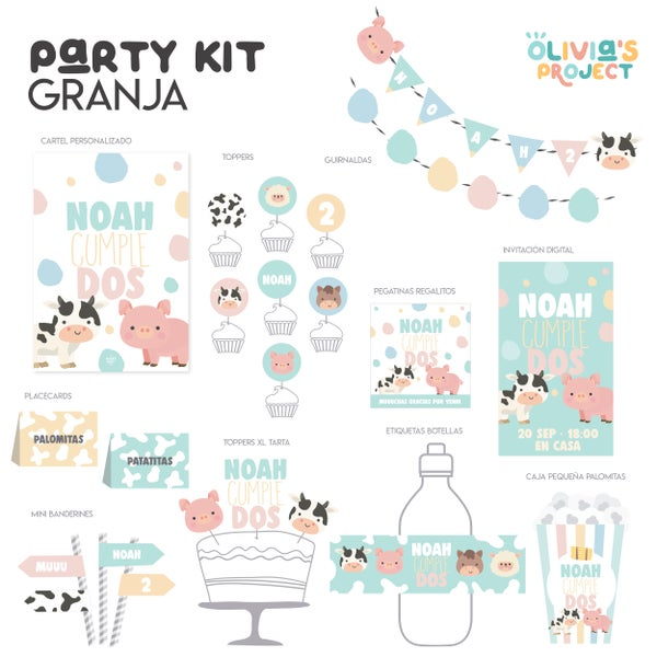 Image of Party Kit Granja Sweet
