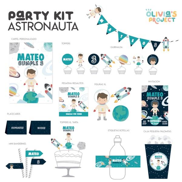Image of Party Kit Astronauta