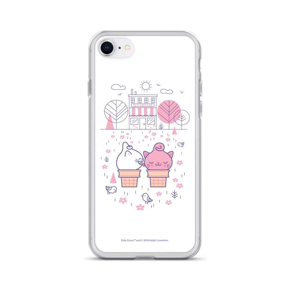 Image of Ice Cream Shop iPhone Case