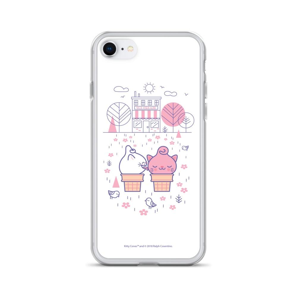 Image of Ice Cream Shop iPhone Case