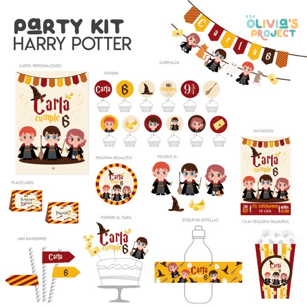 Image of Party Kit Harry Potter