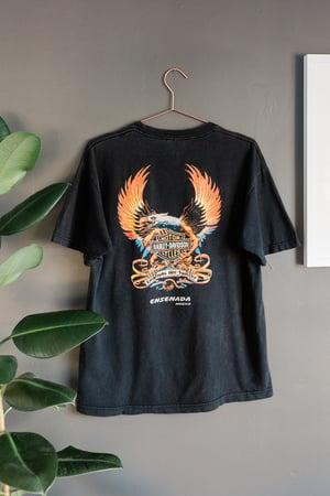 Image of 90s Harley Davidson Ensenda Mexico