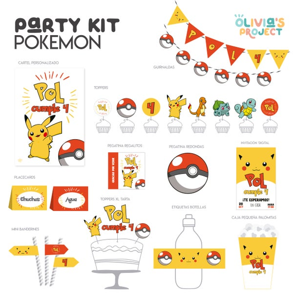 Image of Party Kit Pokemon