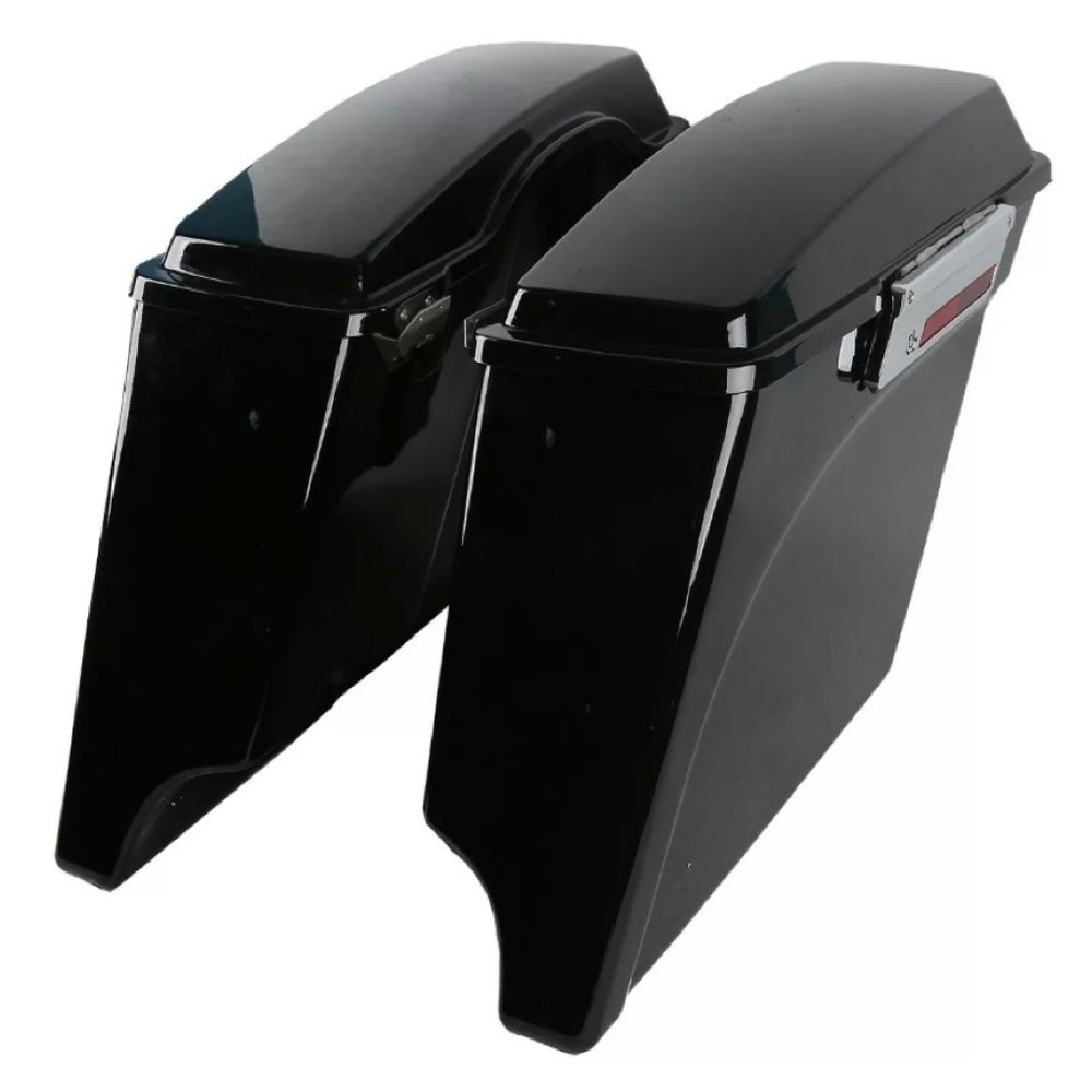 Image of Stretched Hard Saddlebags (fits 1993-2013 HD Touring models)