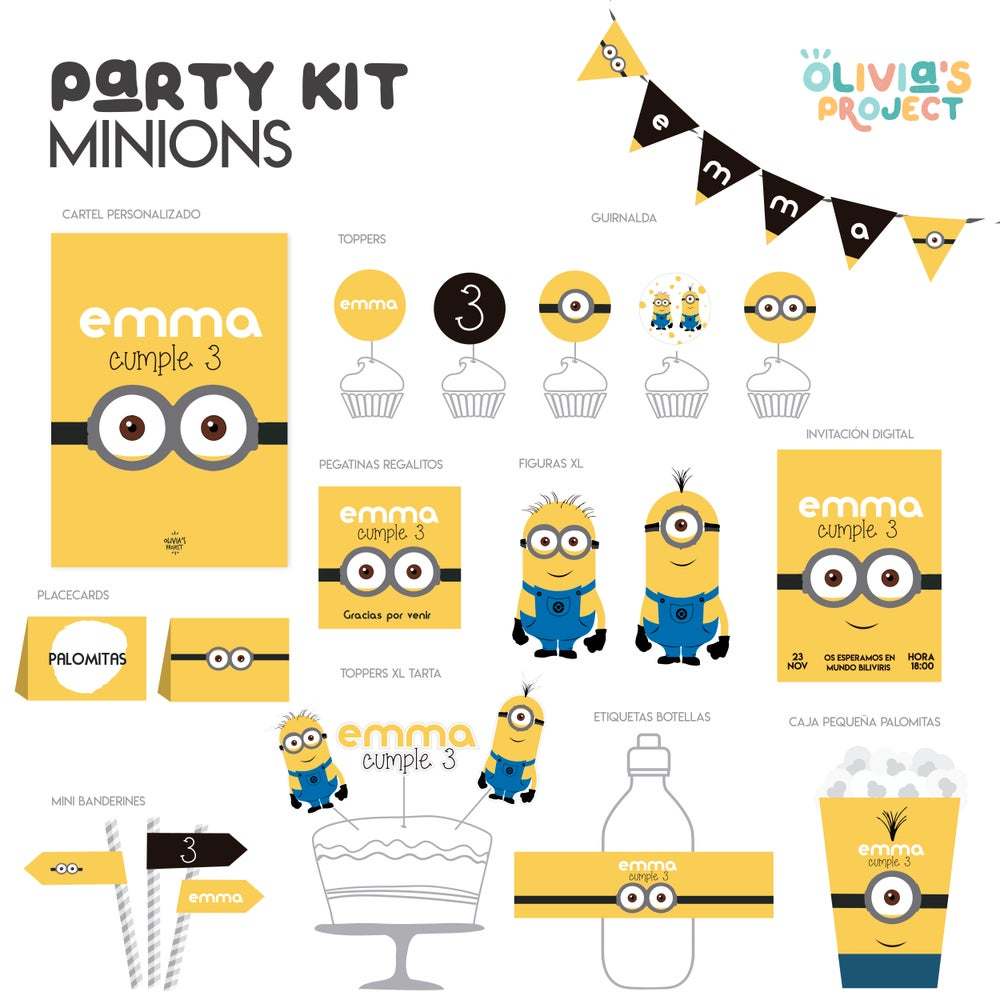Image of Party Kit Minions
