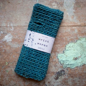 Wrist Worms, Thick Wool, Petrol