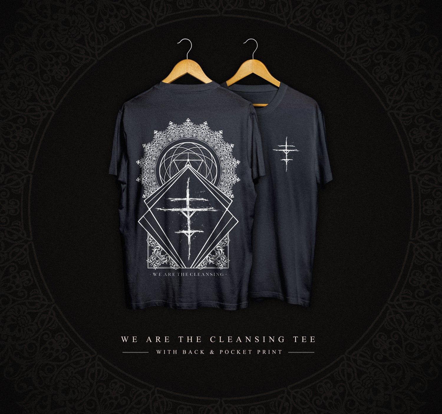 Image of We Are The Cleansing Effigy T-Shirt (Black)