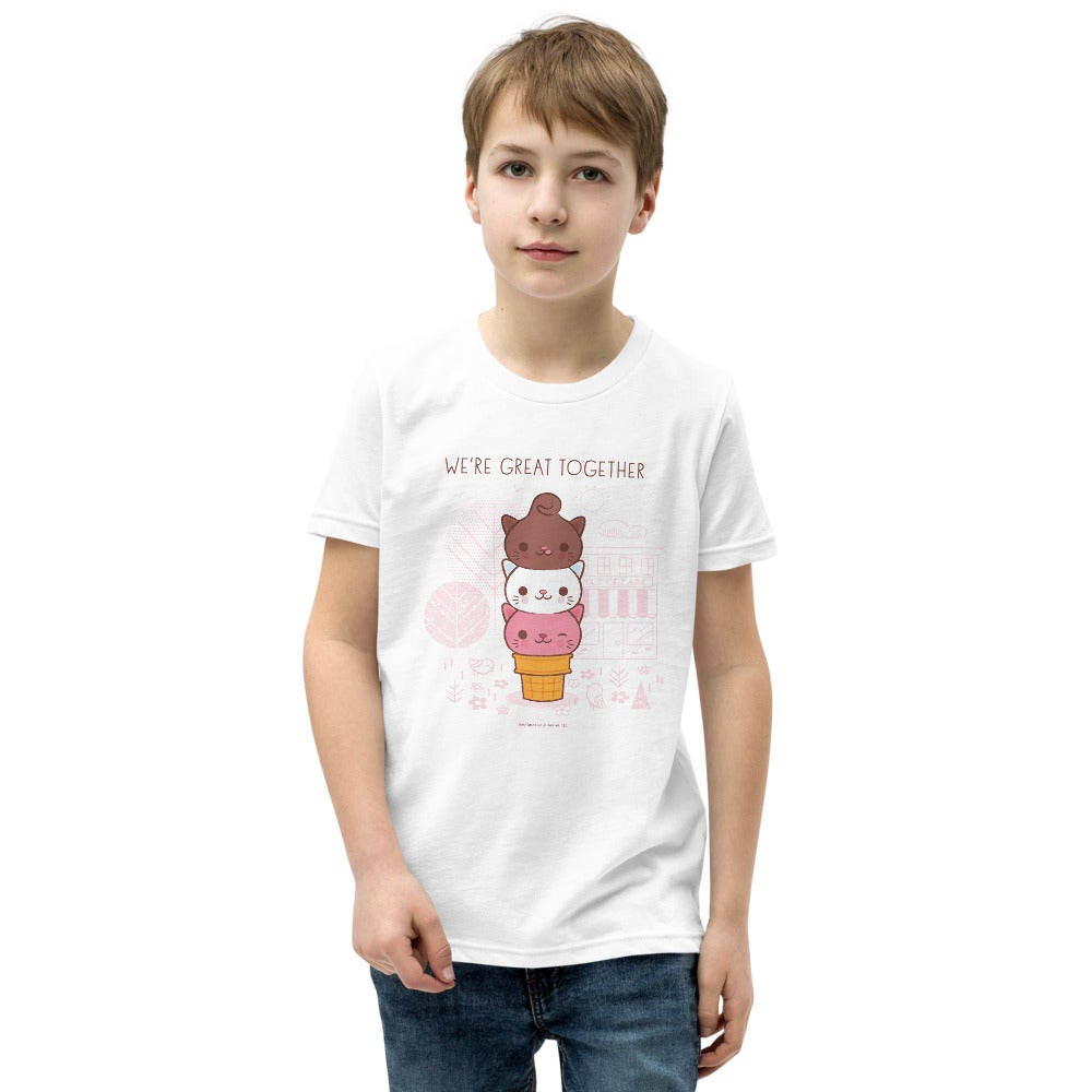 Image of We're Great Together - Youth Short Sleeve T-Shirt