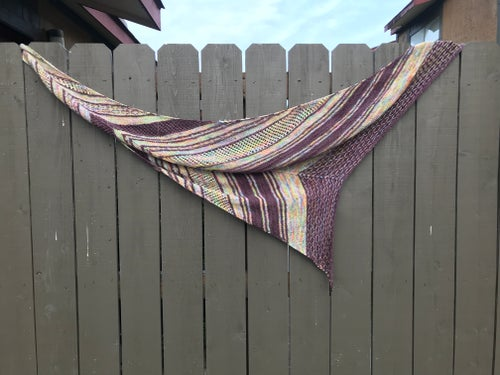 Image of On the Fence Shawl