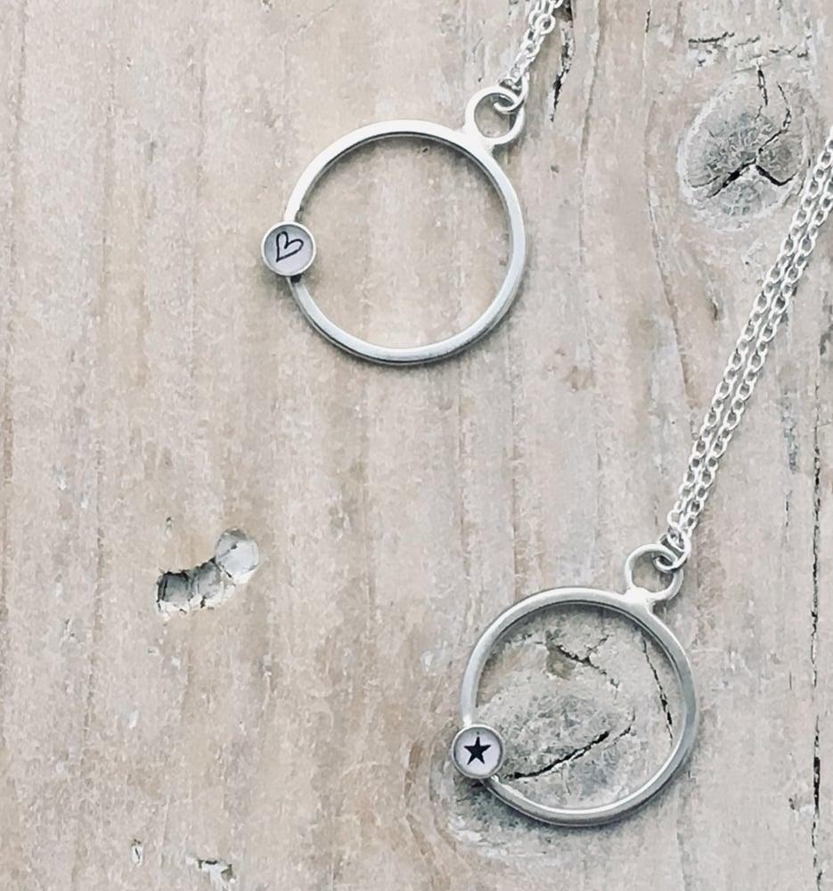 Image of Circle Pendant