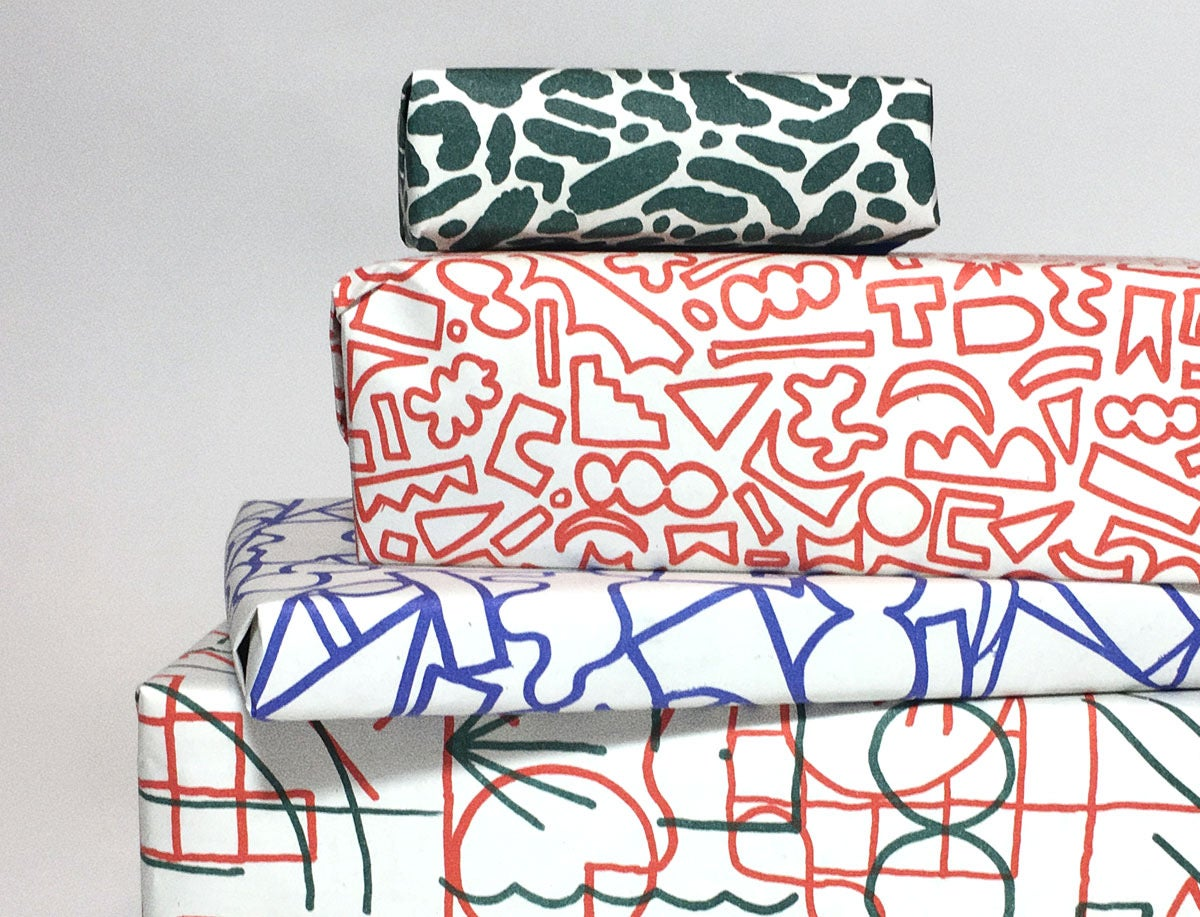 Image of GIFT WRAPPING / WRAPPING PAPER